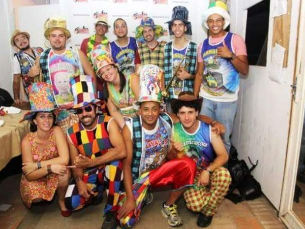 Banda Os Nazarento tocam marchinhas no Carnaval de Nazaré Paulista (Foto: Divulgação)