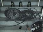 Guarda detém 3 por furto de 60 kg de de fios em empresa de Piracicaba, SP