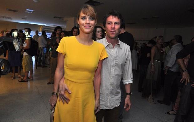 Carolina Dieckmann e o marido no show de Gilberto Gil e Stevie Wonder (Foto: Roberto Teixeira / EGO)