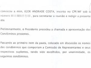 Assembleia geral de constituição de condomínio do edifício de alto luxo LaVue, em Salvador foi assinada pelo advogado Igor Andrade Costa (Foto: Divulgação)
