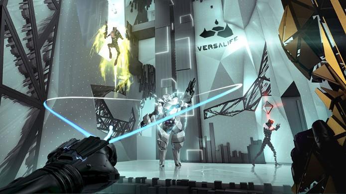 Com um visual diferente do normal, use suas habilidades para roubar dados importantes (Foto: Divulgação/Square Enix)