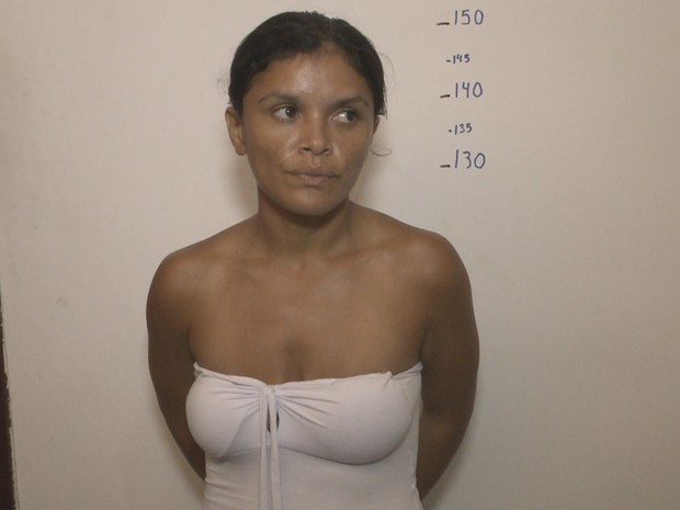 Joseane Aires da Costa é suspeita de participar de chacina em Panaquatira (Foto: Reprodução/TV Mirante)