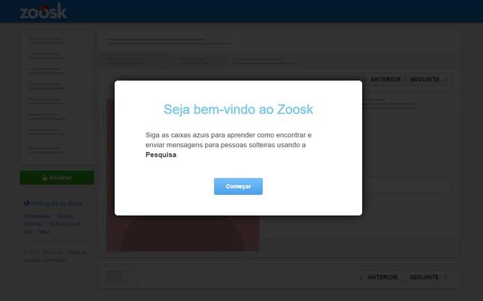 Zoosk é uma rede de relacionamentos para casais e tem versão web (Foto: Reprodução/Barbara Mannara)