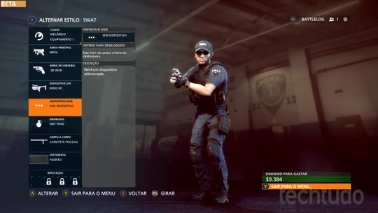 Battlefield Hardline: aprenda a personalizar classes e armas do game