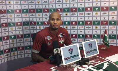 Wellington Silva Fluminense (Foto: Gabriela Pantaleão/ GloboEsporte.com)