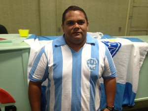 Torcida do Paysandu no Amapá inicia campanha para incentivar a doação de sangue (Foto: Gabriel Penha/GE-AP)