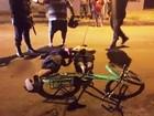Homem leva tiro da polícia em Porto Velho (Reprodução/Rede Amazônica)