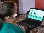 Óculos desenvolvido no RS funciona como mouse para deficientes físicos