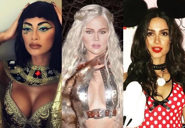 Nicole Scherzinger, Khloé Kardashian e Thaila Ayala (Foto: Reprodução/Instagram)