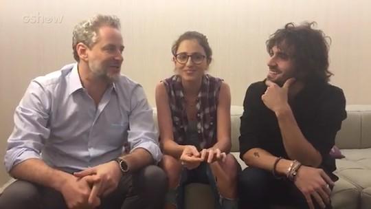 Dan Stulbach, Fiuk e Carol Duarte mostram clima família nos bastidores de 'A Força do Querer'