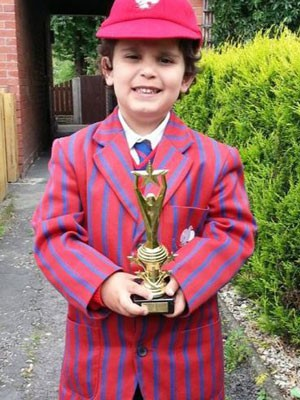 Sherwyn Sarabi, de 4 anos, já ganhou vários prêmios (Foto: Reprodução/Facebook)