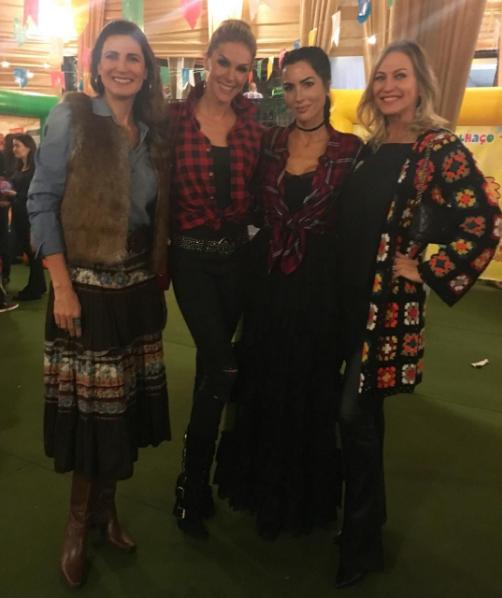 Ana Hickmann em festa junina (Foto: Reprodução/Instagram)