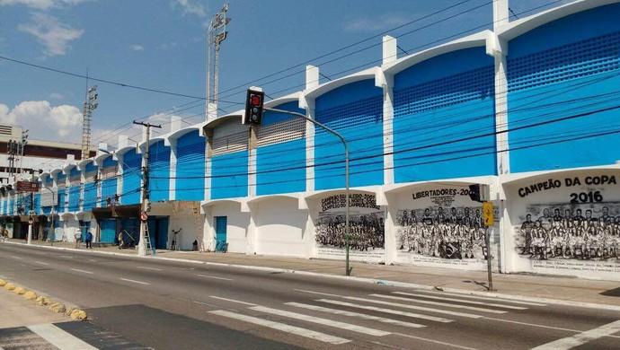 Fachada da Curuzu (Foto: Ascom Paysandu)