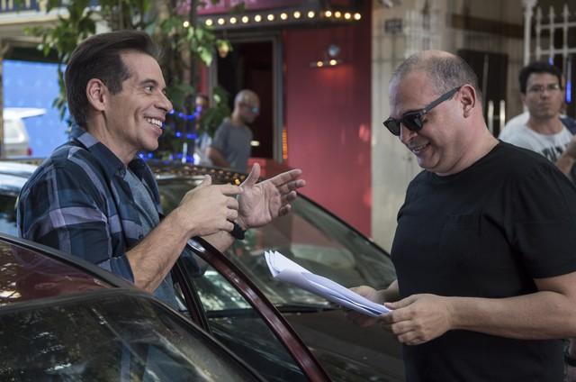 Leandro Hassum e Fabricio Mamberti (Foto: Estevam Avellar/ TV Globo)