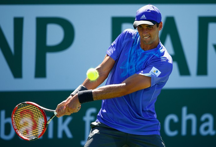 tênis thomaz bellucci indian wells (Foto: AFP)