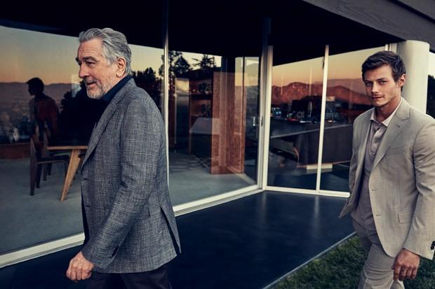 Robert De Niro na campanha da Ermenegildo Zegna (Foto: Divulgação)