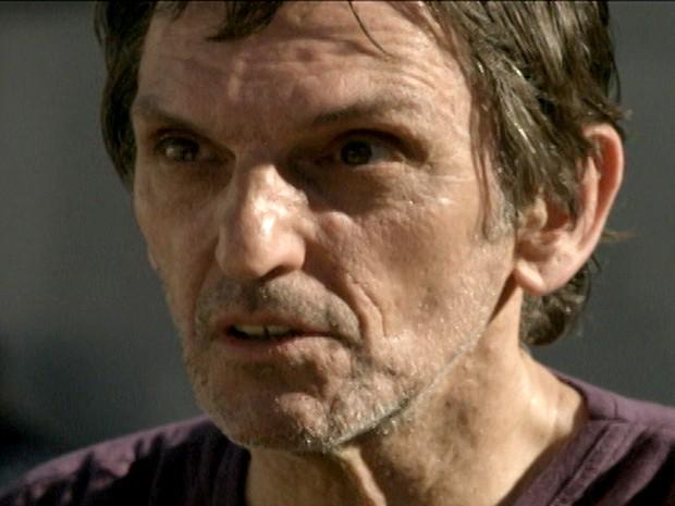 O titã Paulo MIklos pinta na telinha em O Caçador (Foto: TV Globo / Divulgação)