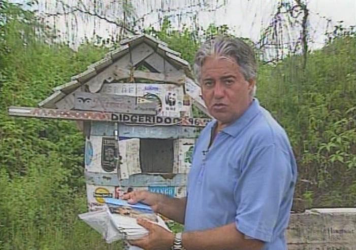 O reprter Francisco Jos se aventura pela Costa do Nordeste (Foto: Reproduo)