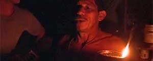 Famílias festejam a chegada da energia elétrica em suas casas (Reprodução / TV Globo)