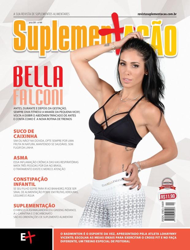 Bella Falconi posa para revista (Foto: Michel Cutaith / MF Assessoria )