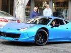 Ferrari de Justin Bieber é colocada à venda nos Estados Unidos