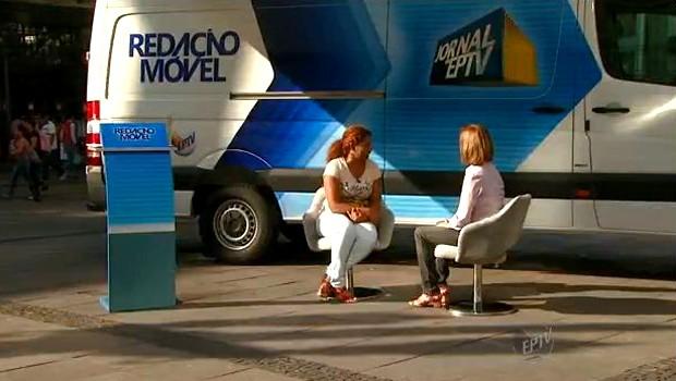 """EPTV terá """"redação móvel"""" para contar histórias de telespectadores (Foto: Reprodução EPTV)"""