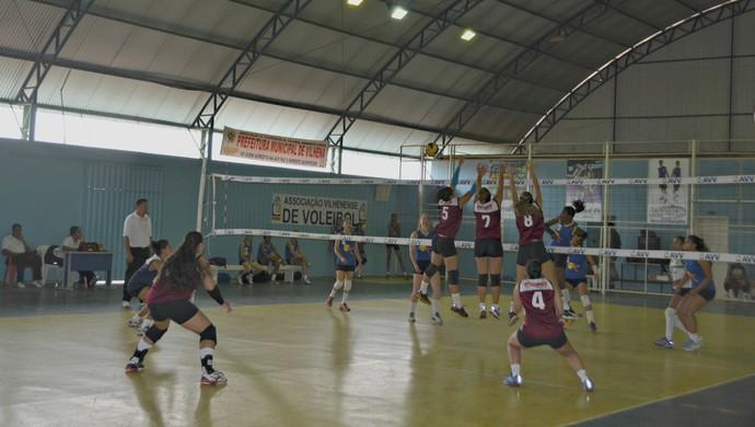 Ginásio é o único de RO com quadra exclusiva para a prática de voleibol (Foto: Dennis Weber)