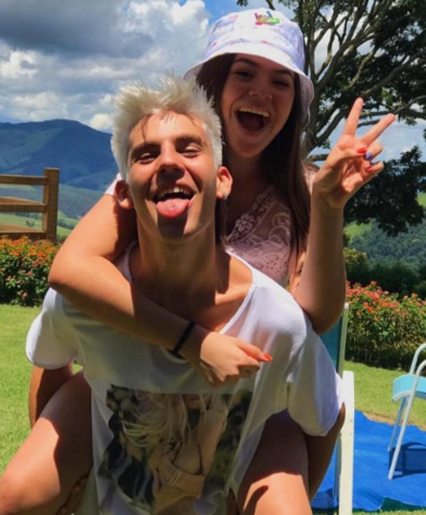 Maísa Silva e Lucca Perez (Foto: Reprodução/Instagram)