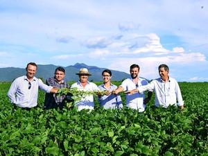 Expectativa é colher 72 mil toneladas de soja este ano (Foto: Divulgação/ Faerr/ Senar)