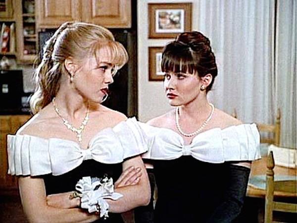 Shannen Doherty e Jennie Garth (Foto: Divulgação)