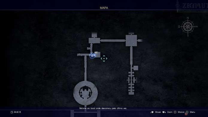 Final Fantasy XV: como viajar no tempo usando o cão Umbra (Foto: Reprodução/Murilo Molina)