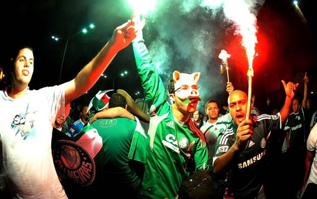 Ambiente Palmeiras x Coritiba (Foto: Marcos Ribolli / Globoesporte.com)
