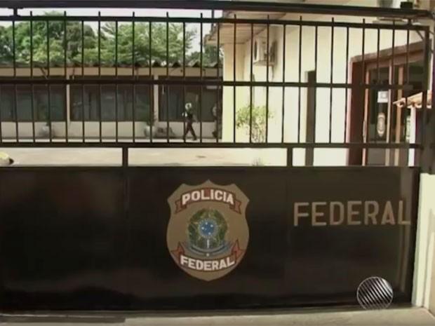 Operação foi deflagrada pela PF em Ilhéus, sul da Bahia. (Foto: Reprodução/ TV Santa Cruz)