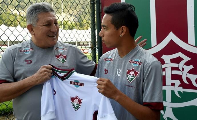 Rojas, Fluminense (Foto: Divulgação/Fluminense)