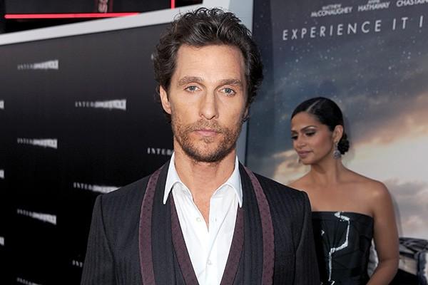 """Matthew McConaughey tem medo de portas-giratórias. """"Não gosto delas, é a mesma coisa de estar dirigindo e entrar num túnel e não consegue ver uma boa parte do que está acontecendo ao seu redor"""", revelou. (Foto: Getty Images)"""