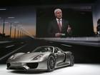 Porsche apresenta o 'super-híbrido' 918 Spyder