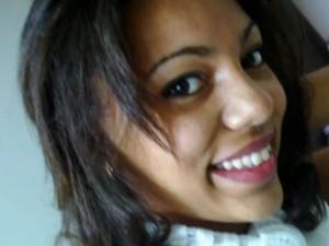 Haissa Motta foi morta por policiais em Nilópolis (Foto: Reprodução/TV Globo)