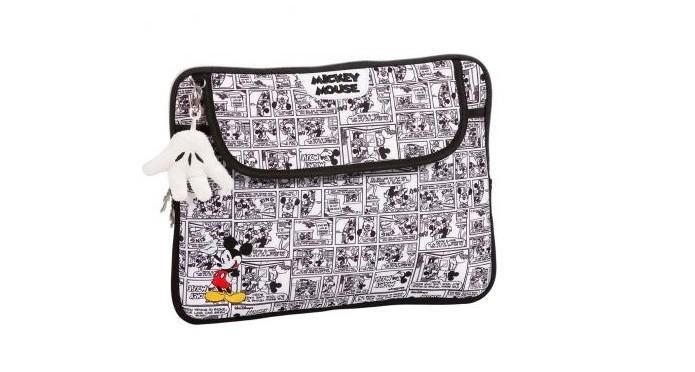 951159bf510bd Case com quadrinhos do Mickey Mouse comporta notebooks de até 12 polegadas  (Foto  Divulgação