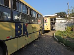 BK Transportes (Foto: Letícia Bucker/ G1)