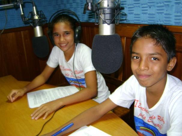 Projeto Rádio Pela Educação (Foto: divulgação)