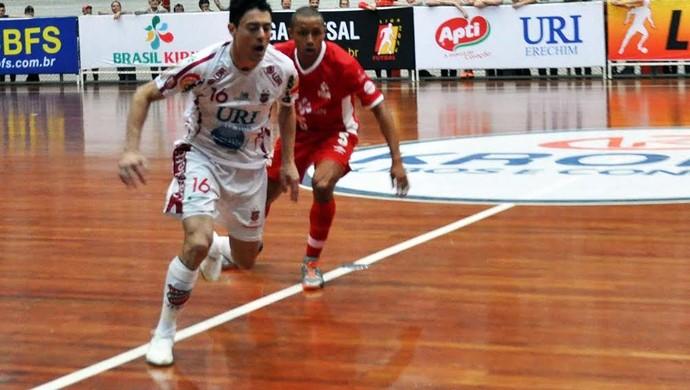 Atlântico Erechim Sorocaba Liga Futsal (Foto: Divulgação)
