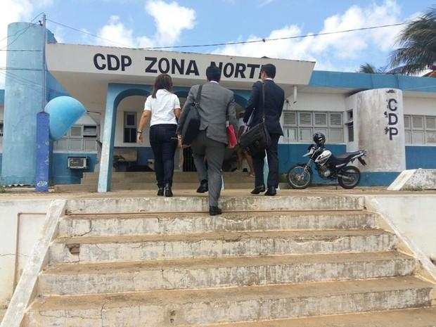 Mutirão da Defensoria Pública CDP Zona Norte (Foto: Divulgação/Defensoria Pública do RN)