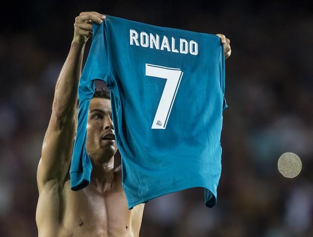 BLOG: Cristiano Ronaldo tira a camisa, mostra para a torcida e imita Messi no Camp Nou