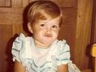 Gisele Bündchen compartilha foto divertida de quando era criança