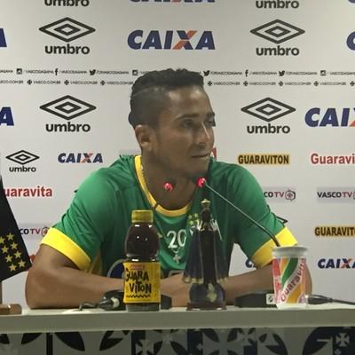 Jorge Henrique Vasco (Foto: Felippe Costa/ GloboEsporte.com)