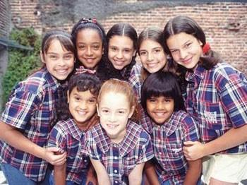 """Primeiro elenco de """"Chiquititas"""" (Foto: Reprodução)"""