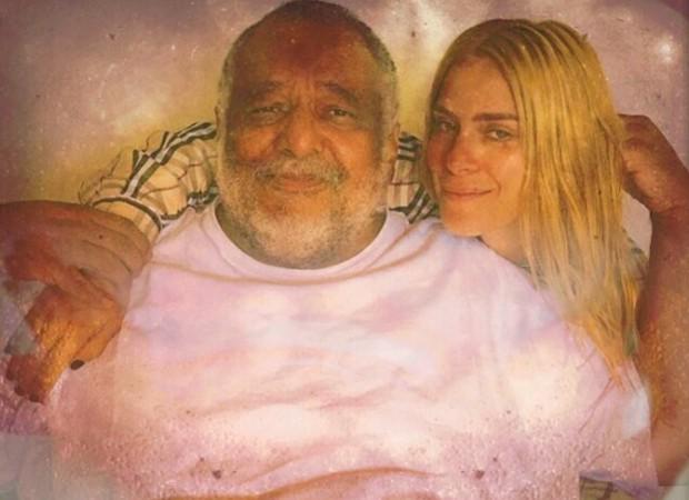 Jorge Bastos Moreno e Carolina Dieckmann (Foto: Reprodução/Instagram)