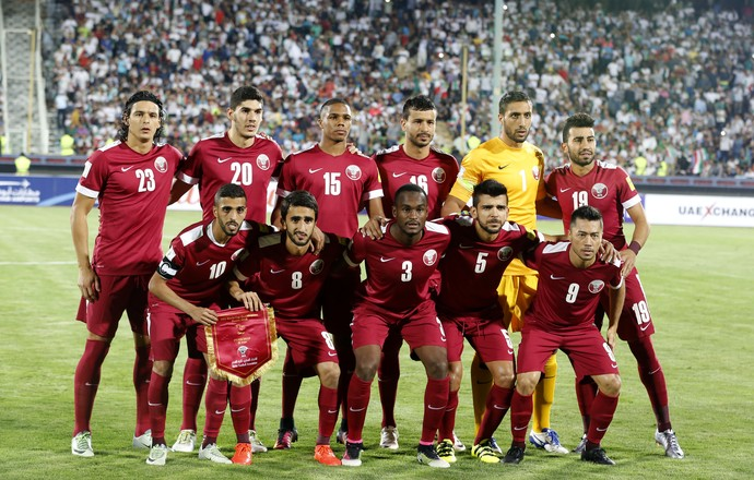 Seleção Catar x Irã Tabata Luiz Ceara (Foto: AFP)