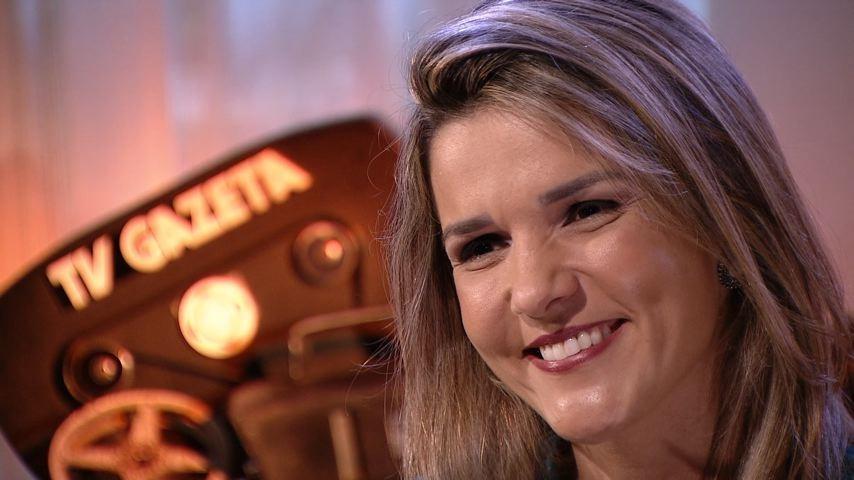 Tatiane Braga relembra momentos marcantes nos 40 anos da TV Gazeta (Foto: Divulgação/ TV Gazeta)