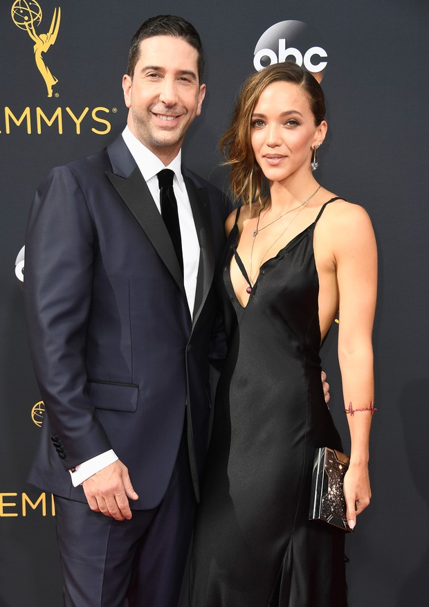 David Schwimmer e Zoe Buckman (Foto: Getty Images)